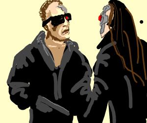 When a Terminator meets a girl Terminator