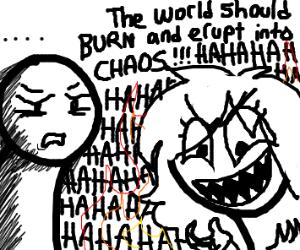 girl likes chaos