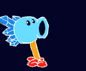 blue pea shooter pvz