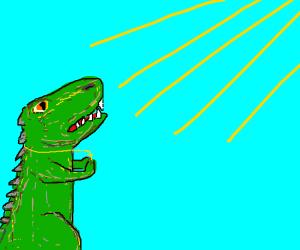 Catholic dinosaur