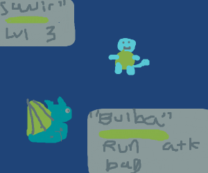 Bulbasaur vs Squirtle