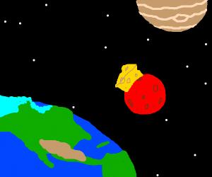 Cheese on Mars