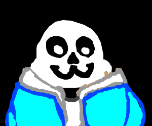 Sans with OwO face