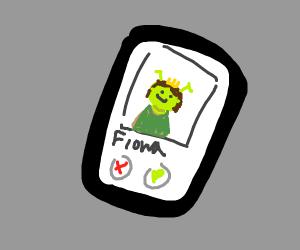 Fiona from Shrek has Tinder?!