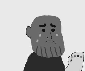 depressed thanos