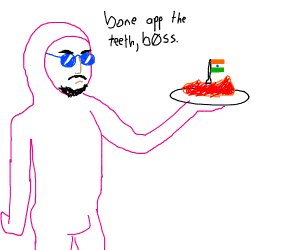 pink lasagna