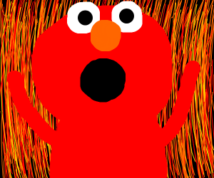 elmo goes to hell