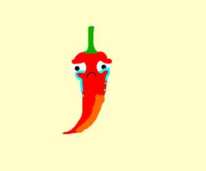 Sad pepper