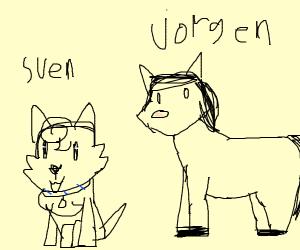 Sven and Jorgen