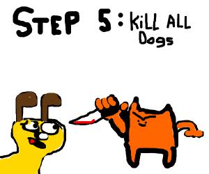 Step 4: Reincarnate into a cat