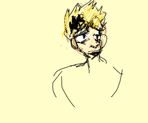 lightning boi from my hero acedamy