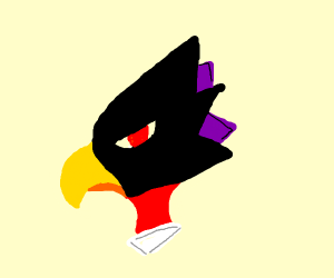 that crow guy from MHA