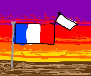 France surrendering