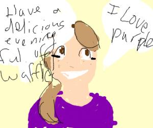 Draw with waffles