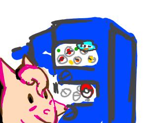 Clefairy playing gatcha