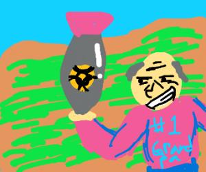 Grandpa has a nuke