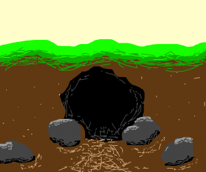Cool and detailed cave