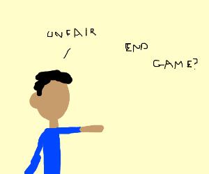 Unfair game ending