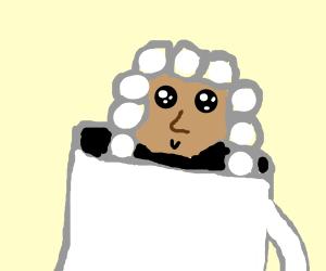 A Judge in a mug