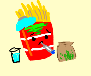 Sick fries