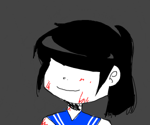 yandere but without her eyes