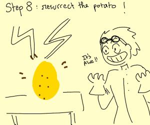 step 7: rip rip potato chip