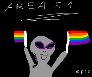 area 51 is actually about gay rights(epic)