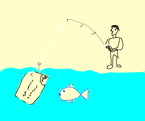 Fishing with a Card