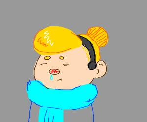 Cinderella with a cold