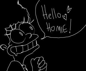 marge says hey homie