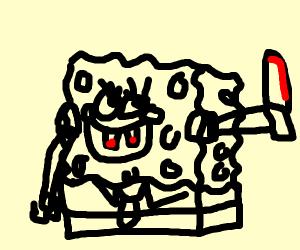 Crazy spongebob squarepants