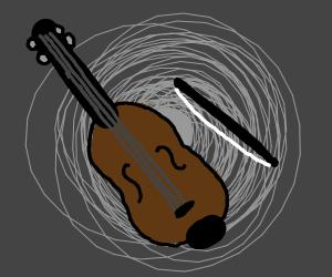 A Violin.