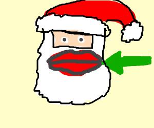Santa Lips