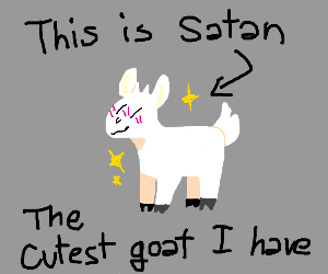 The cute little goat called Satan