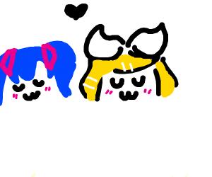 Hatsune Miku & Rin Kagamine