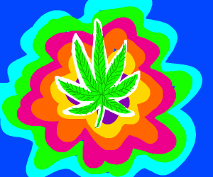 A maryjuana leaf