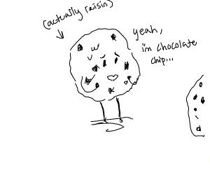 Awkward cookie