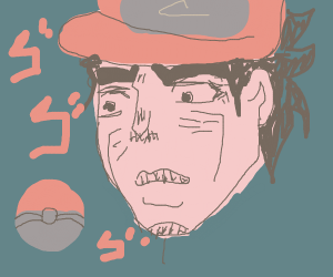 jotarou from jojo, is a pokemon master
