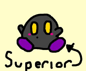 maskless meta knight says he's superior