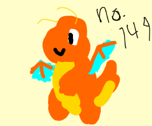that orange dragon pokemon (I m uncultured)