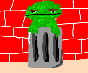 Oscar the grouch (Sesame street)