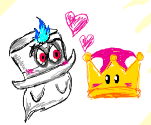 Cappy dates the super crown