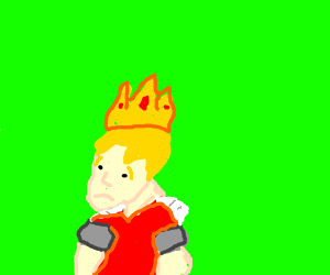 depressed blond prince