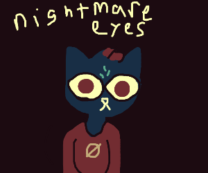 cat girl from night in the woods
