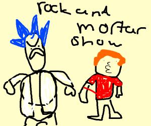 Bootleg Rick and Morty