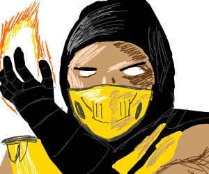 Scorpion from Mortal Combat