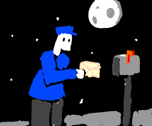 Pale Mail Carrier