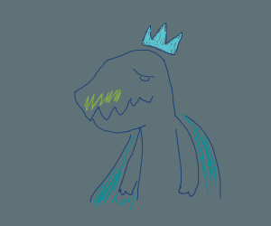 blushing king dinosaur