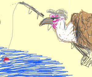Vulture Fisherman