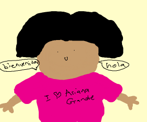 Dora as a Twitter stan